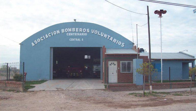 El particular rescate que hicieron los bomberos en Centenario