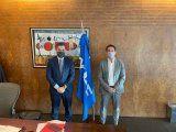 luque se reunio con el presidente de ypf