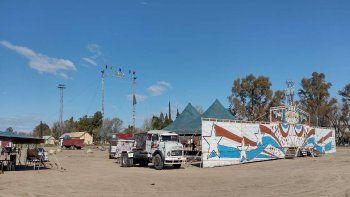 El circo dejó Cipolletti después de 20 meses