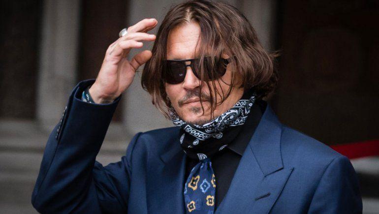 Johnny Depp dio un dato escatológico sobre su separación