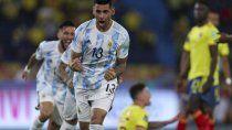 minuto a minuto: acuna de titular en argentina frente a colombia