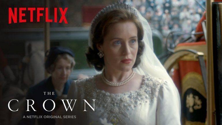 The Crown, la popular serie de Netflix.
