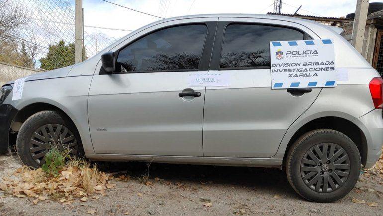 Recuperaron en Mariano Moreno un auto robado en Córdoba