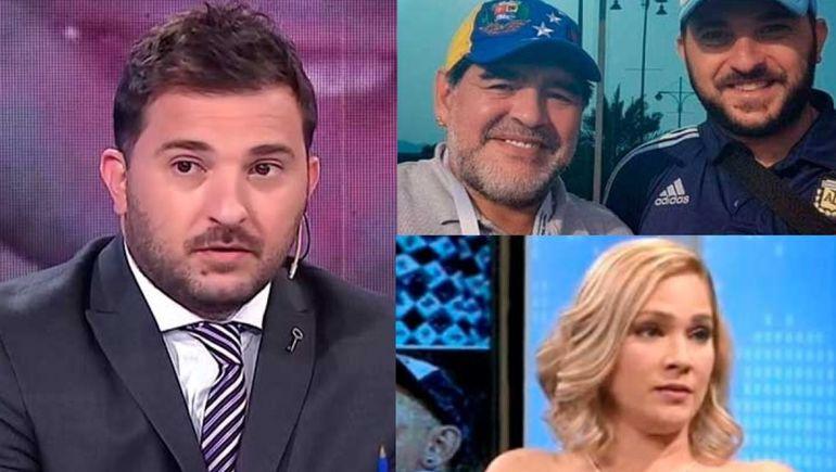 Repudian a Brancatelli por sus dichos sobre Mavys, la denunciante de Maradona