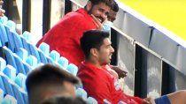Suárez le cambió el humor a Diego Costa con sus ocurrencias.