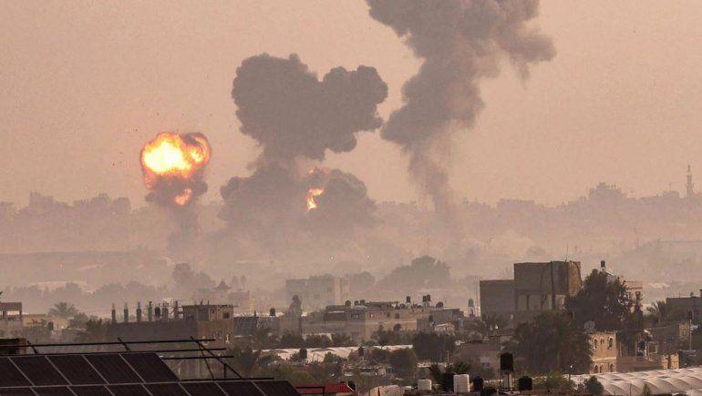 Acuerdan un alto el fuego entre Israel y Hamas en Gaza