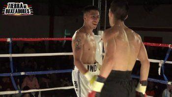 Facundo Huanque vuelve a pelear.