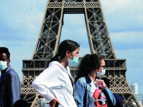 Francia registra una segunda ola de casos y por eso volvió a estar en cuarentena, por un mes.