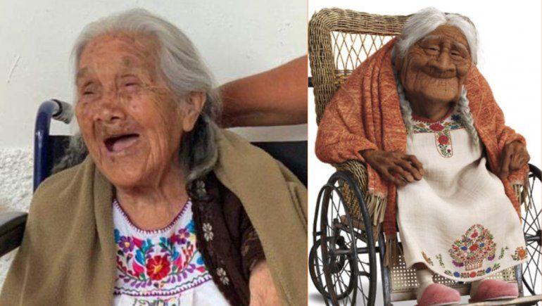 México: Mamá Coco existe y cumplió 108 años