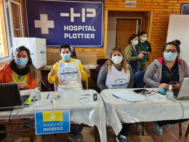 En Plottier también sumarán centros de salud para la vacunación