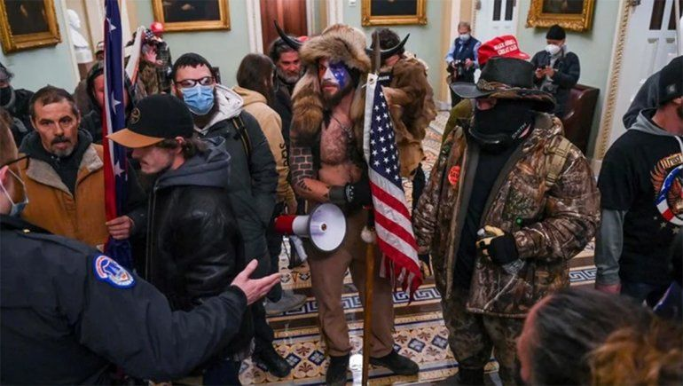 Militarizan Washington por la asunción de Biden