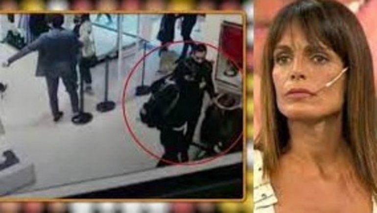 Robo en el shopping: apareció el video y la ex de Sergio Denis habló