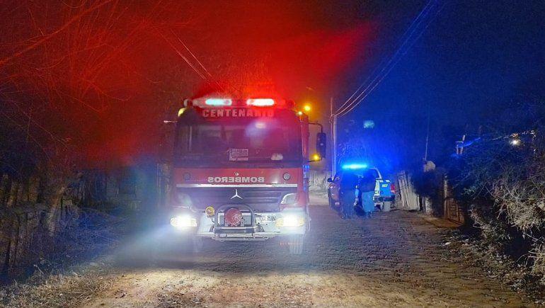 Incendios y tiroteos en Vista Alegre: el fuego consumió una casilla y una vivienda