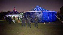 desbarataron una mega fiesta clandestina con mas de 1.200 personas
