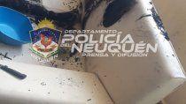 vecinos de mariano moreno quisieron echar a una familia con una bomba molotov