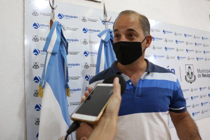 Francisco Baggio, subsecretario de Medioambiente y Protección Ciudadana.