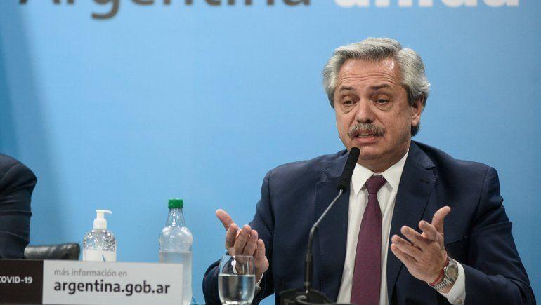 Alberto sobre el acuerdo de deuda: Ahora tenemos despejado el horizonte