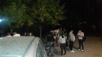 festejo de cumpleanos clandestino termino con dos detenidos
