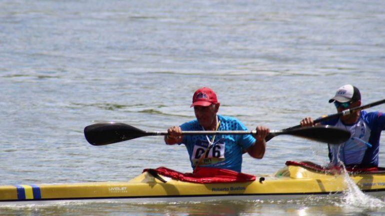 El roquense Roberto Bustos y Nelson Vega, de Plottier, ganaron en la categoría Travesía D,