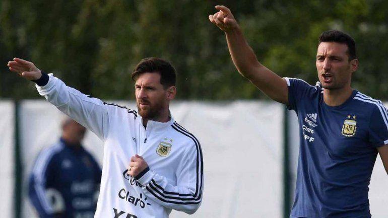 Scaloni habló de los borrados y Messi sueña con dar el golpe