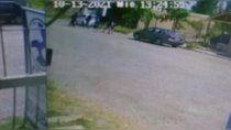 video: motochorros armados le robaron a tres nenes de 12 anos