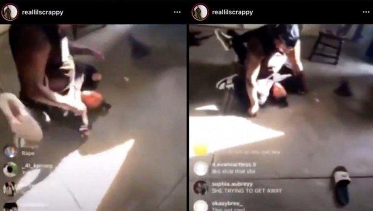 Video: padre golpeó brutalmente a su hija y lo transmitió por Instagram