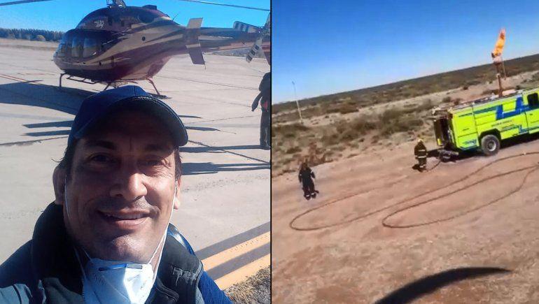 Ir a trabajar en helicóptero, la otra cara de los cortes de los autoconvocados