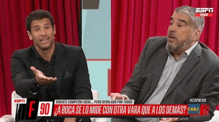 El tenso cruce entre Sebastián Domínguez y el Chavo Fucks: Nunca se puede hablar