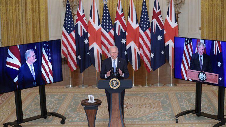 El acuerdo AUKUS eleva más la tensión