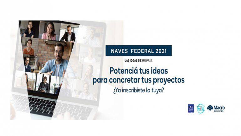 Banco Macro lanzó una nueva edición del concurso NAVES Federal