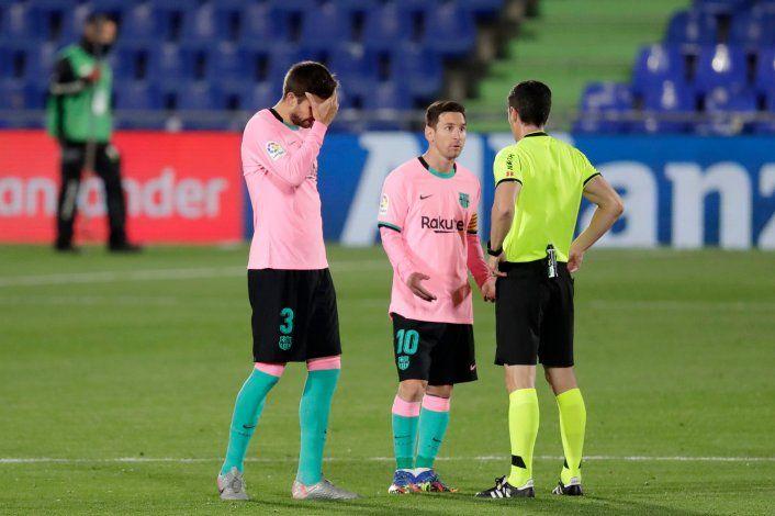 Están pensando en el clásico: derrotas del Barcelona y el Real Madrid