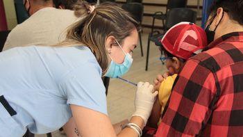 La vacunación de los niños en Neuquén supera a la media nacional