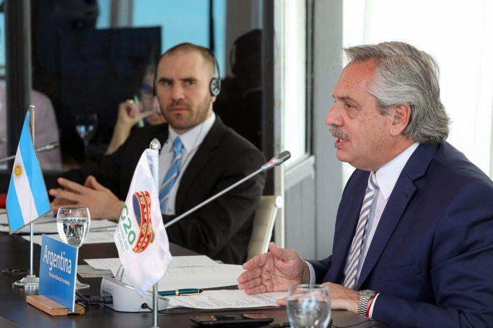 El Presidente de Argentina participó del G20 junto al Ministro de Economía, Martín Guzmán.