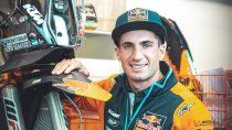 Kevin Benavides afrontará el Dakar 2022 arriba de una KTM