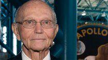 murio michael collins, astronauta de la primera mision tripulada a la luna
