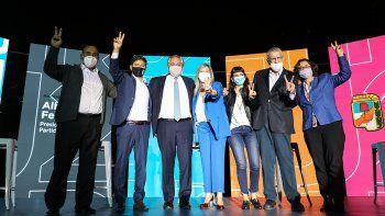 con alberto, cristina y massa, el frente de todos anuncio los candidatos