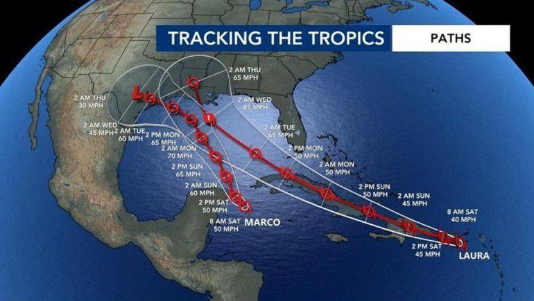 Los huracanes que amenazan Estados Unidos y el Golfo de México