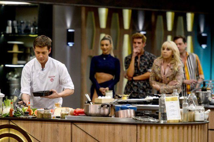 Gastón Dalmau preparando sus últimos platos durante la última gala de MasterChef
