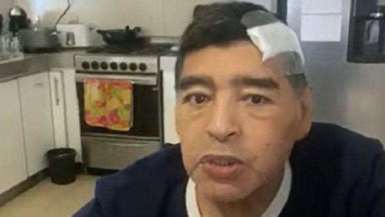 Publican video de Maradona grabado días antes de su muerte
