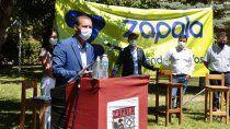 gutierrez encabezo el lanzamiento del plan + futuro de zapala