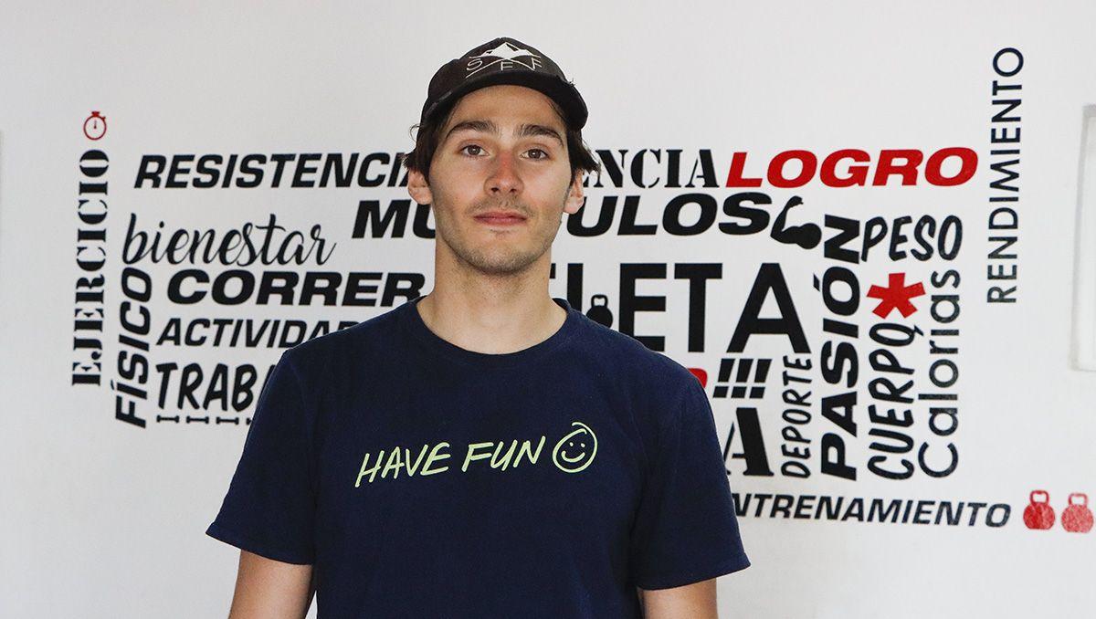 Rimmele armó un plan de entrenamientos desde Cipolletti, con profesionales de la ciudad.