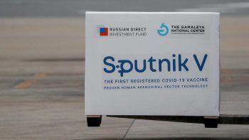 Las dosis de vacunas Sputnik V llegaron a la Argentina para la segunda tanda de vacunaciones