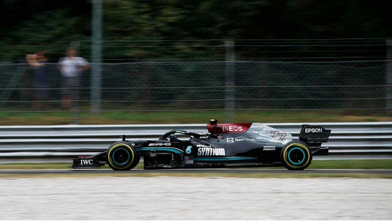 Valtteri Bottas prevaleció en la clasificación de la Fórmula 1 en Monza
