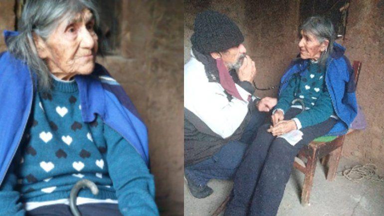 Rosa, la criancera de 99 años que se vacunó con la CanSino