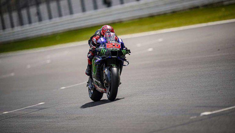 Fabio Quartararo impuso condiciones en la final del MotoGP en Portimao