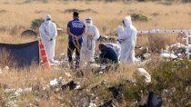 hallan el cuerpo de una mujer calcinado en la meseta