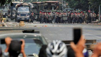 myanmar vive su dia mas sangriento con 38 muertes