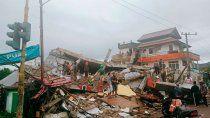 terremoto de 6,2 grados en indonesia: 34 muertos