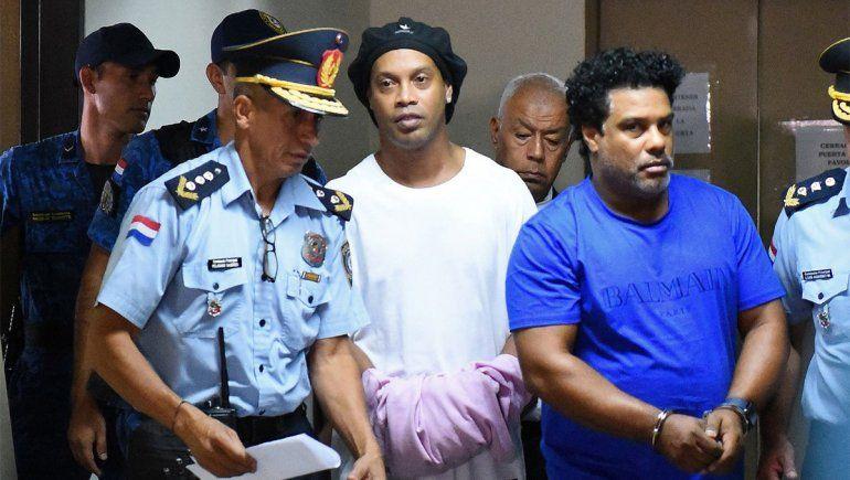Se terminó la pesadilla de Ronaldinho: libre tras 173 días preso
