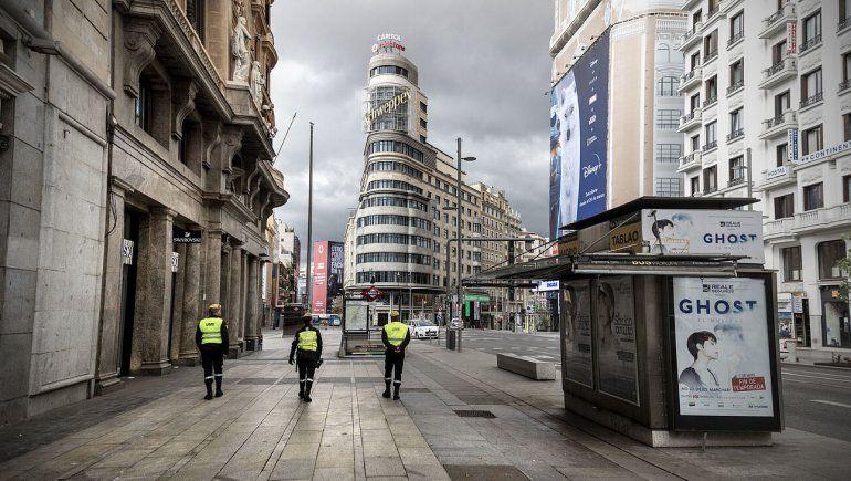 Madrid pide apoyo al Ejército para frenar al coronavirus